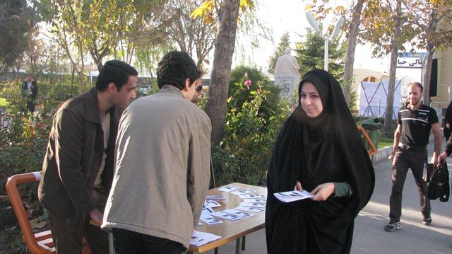 """گزارشی از فعالیت انجمن در 15 آذر 1391 """" روز حسابداری """""""